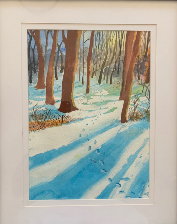 3 winter trail shadows 1955
