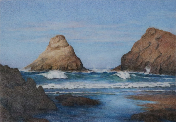3 heceta head beach 1960