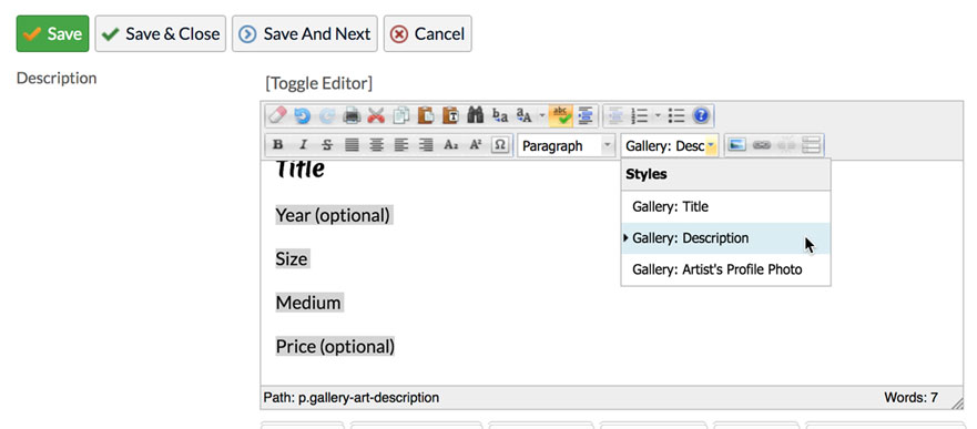 manage image add text step 3