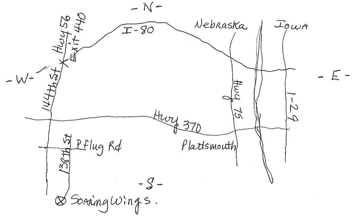 Soaring wings map